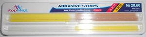 20.60 Dental Abrasive Finishing Polishing Strips (3 mm Wide) 50 pcs.