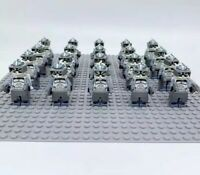 20x Wolfpack Clone Troopers Mini Figures (LEGO STAR WARS Compatible)