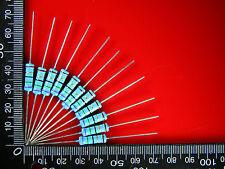 50PCS 1K ohm 1000R 2Watt Metal Film Resistors 2W Resistor 1% High Quality #0520