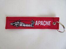 Porte-clés SUPPRIMER AVANT Vol Apache AIRFORCE PILOTE US ARMY CLEF ANNEAU