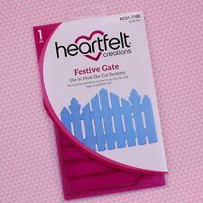 Heartfelt Creations Cut & Emboss Dies ~ Festive Gate, HCD1-7105 ~ NIP
