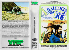 """VHS - """" 4 Halleluja für Dynamit JOE """" (1967) - Rik van Nutter -- VMP"""