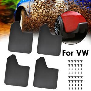 For VW Mud Flap Splash Guards Mudguards Mudflaps Fender Flexible