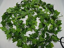 Massive 11Ft Artificial Green Ivy Chainlink Garland/Decoration /Trailing/Wedding