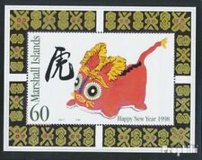 Marshall-Islands block23 unmounted mint / never hinged 1998 chinese Year: Year o