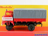 "Busch/Espewe 95243 IFA W50 LA/PV (1984) ""FEUERWEHR"" in rot/weiß 1:87/H0 NEU/OVP"