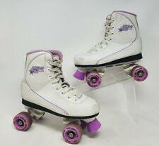 New listing Roller Derby Quad Star 600 Women Roller Skates White Purple Black Size 6