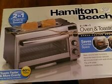 Hamilton Beach® 2-in-1 Oven and Toaster wide slots Brand New! Free Shipping!