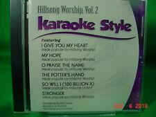 Hillsong Worship Volume #2 Christian Daywind Karaoke Songs cdg Karaoke New