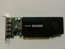 NVIDIA QUADRO K1200 4GB GDDR5 Video Card Inc Adapter Cable PCI Express 2.0 x16