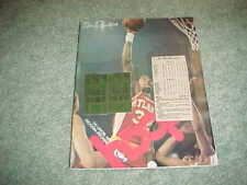 1979 Atlanta Hawks v Milwaukee Bucks Basketball Program 11/17 with tickets