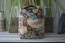WILLIAM MORRIS & Co brown STRAWBERRY THIEF fabric DOOR STOP