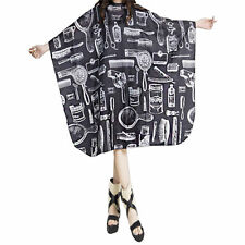 Adult Salon Barbers Hairdresser Hair Cutting Cape Gown Hairdressing Clothes