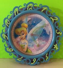 Disney TinkerBell Flora Magic Wall Clock Collectible Gift