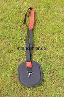 Rasentrimmer Tragegurt Schultergurt  Motorsense Gurt für Stihl Dolmar Solo Rot
