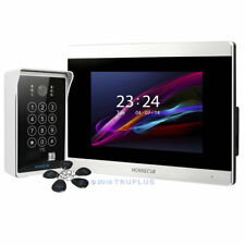 HOMSECUR 7'' Video Entry Intercom with Touch Screen IR Camera Recording Snapshot