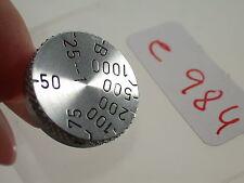 Leica Leitz M 39 pièce de rechange Spare Part verschlußzeiten-roue Speed Dial Bouton (6)