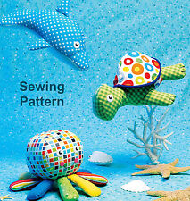 Kwik Sew K140 PATTERN - Toys - Ellie Mae Designs - OSZ