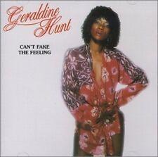 GERALDINE HUNT - CAN'T FAKE THE FEELING [SINGLE] NEW CD
