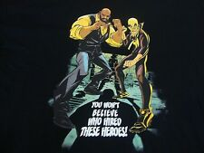 Power Man and Iron Fist Marvel Who Hired Heroes Comics T Shirt Men's Size 3XL