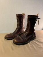 Sold Out $279 Donald J Pliner Brice 120 boots men Size 10 Leather made in Italy