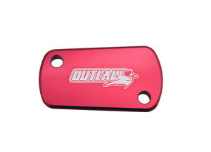 Outlaw Racing OR202R Billet Rear Brake Cap Red SUZUKI RMZ250 RMZ450 2004-2015