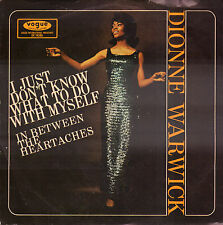 "DIONNE WARWICK ‎– I Just Don't Know What To Do With Myself (1966 SINGLE 7"")"