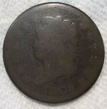 1808 United States Classic Head Large One Cents Copper Coin