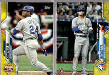 2020 Topps Update Walgreens Yellow Parallel w/ Rookie RC - You Pick From A List