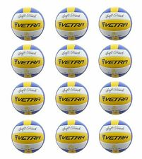 12Pcs Vetra Volleyball Soft Touch Ball Official Wholesale Lots Yellow/Blue/White