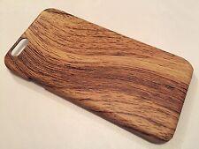 Apple iPhone 6 6S COVER CASE PROTETTIVA Hard Back in legno di rovere venature di legno Marrone