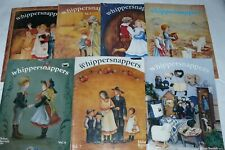 Lot of 7 Helan Barrick Whippersnappers Decorative Tole Painting Pattern Books