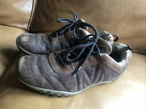 MERRELL BROWN LEATHER TRAINERS / SHOES UK 10  EU 44.5