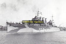 rp10298 - Royal Navy Warship - HMS Suffolk ,  built 1928 - photo 6x4