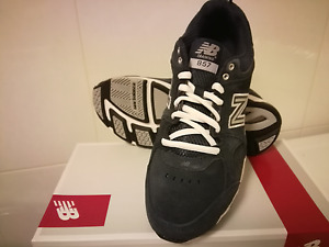 New! Womens New Balance 857 Cross Trainer Sneakers Shoes - Wide Width - Navy