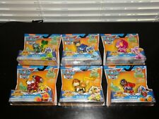 NICKELODEON PAW PATROL MIGHTY PUPS SUPER PAWS LOT OF 6 ACTION FIGURES