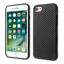 Hülle für Apple iPhone SE (2020) Handyhülle Silikon Case  Cover Carbon Farben