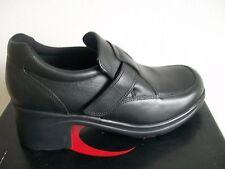 New boxed Start-rite black leather shoes size 7F UK - 41 EU