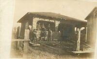 Bungalow C-1910 Newberg Oregon Occupational Worker RPPC Photo Postcard 6340