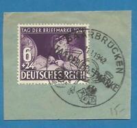 German Third Reich Stamp --  Postmarked - 1942