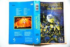 IRON MAIDEN VHS LIVE AFTER DEATH ULTRA RARE ORIGINAL YUGOSLAVIAN EDITION JUGOTON