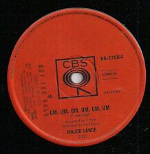 (MAJOR LANCE- Um, Um, Um, Um, Um, Um/ Sweet Music)-Northern soul-H7-7