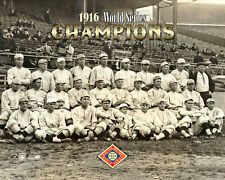 Boston Red Sox 1916 World Series Champions Team Portrait Premium POSTER Print