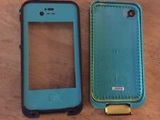 Blue Lifeproof case for iphone 4
