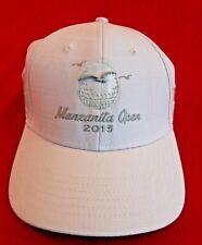 Manzanilla Open 2015 Strapback White Golf Hat Cap