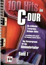 Keyboard Klavier Noten : 100 Hits in C-Dur 1 Schlager Oldies - leiMittels B-WARE