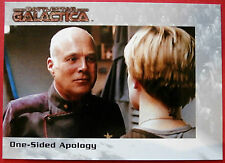 BATTLESTAR GALACTICA - Premiere Edition - Card #65 - One-Sided Apology