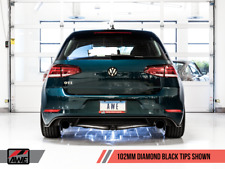 AWE TUNING 2018-2019 VW GTI MK7.5 TOURING CATBACK EXHAUST SYSTEM WITH BLACK TIPS