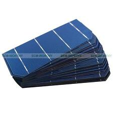 20 Pieces 2x6mm PV Mono Solar Cell Cells High Efficiency for DIY Solar Module