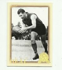 2012 AFL ETERNITY HALL OF FAME MELBOURNE STAN HEAL HF210 CARD FREE POST SELECT